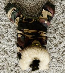 Teli szett: Burberry es terepmintas