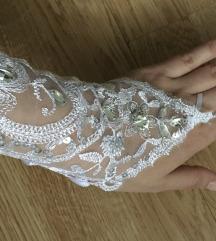 Új! Menyasszonyi csipkekesztyű💒❤️INGYEN PK