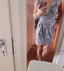 Szürke virágos nyári ruha XS/S