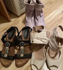 Szép állapotú cipők egyben 1000Ft.