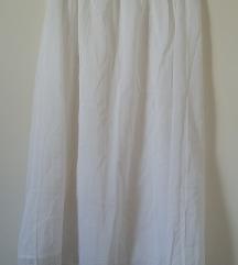 Fehér alsószoknya alul csipkével, XS/S-es