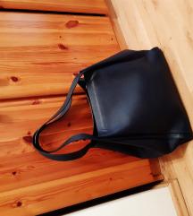 Nagyméretű sötétkék pakolós táska újszerű