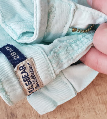 Pull&bear menta színű nadrág
