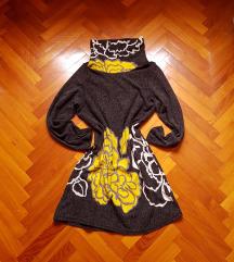 Gyapjú garbós ruha M-L