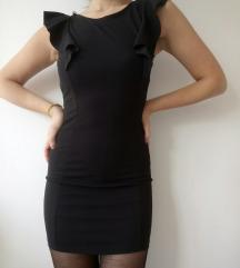 Elegáns, fekete mini ruha