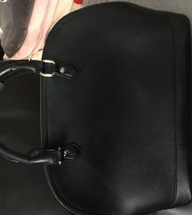 Fekete műbőr táska