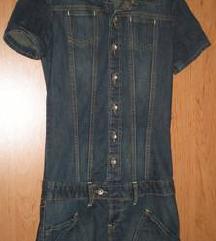 Újsz. szuper csinos farmer ruha Akció