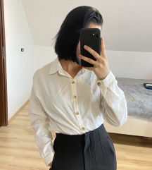 Fehér oversize ing