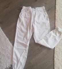 Fehér mom jeans