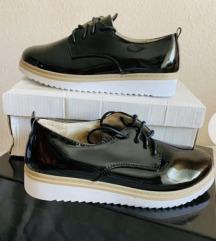 Fekete Lakk Alkalmi Cipő (ÚJ)