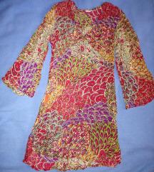 Új Bahia színes, mintás indiai ruha