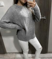 H&m-es kötött pulóver S-es