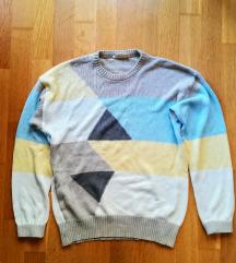 Vintage mintás pulcsi