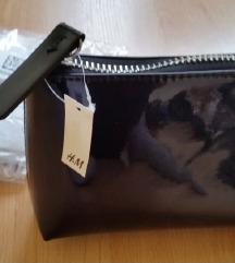 Új H&M neszeszer kozmetikai táska fekete
