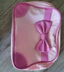 H&M rózsaszín-pink masnis neszeszer
