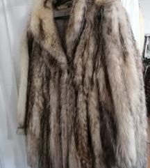 Ezüst róka bunda eladó 40 es méretben!