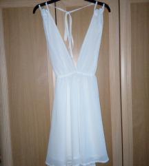 Fehér koktél ruha