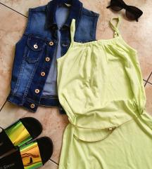 Esmara világoszöld nyári ruha