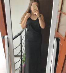 MISSGUIDED fekete maxi ruha ÚJ