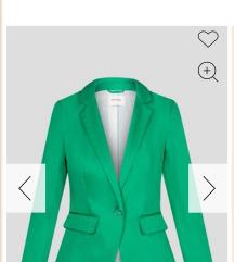 Orsay zöld, karcsúsított blézer zakó