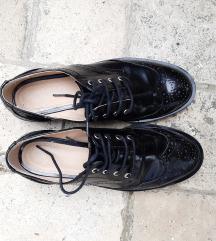 Fekete oxford elegáns 36-os cipő