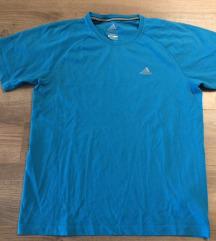 Adidas férfi fiú kék póló S M