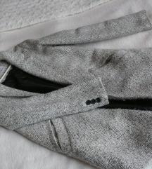 BERSHKA halszálkás kabát XS