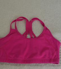 Pink sport top