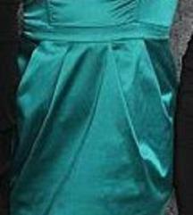 Smaragdzöld koktélruha