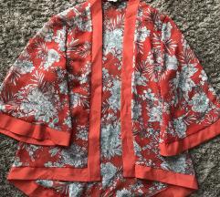 Új, narancs kimonó jellegű felső