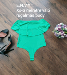 👗Envy Xs-S-es zöld body👗 (2.)