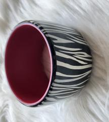 Zebra mintás karkötő