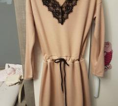 Csipkés őszi ruha