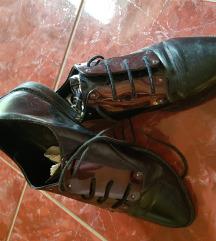 Stradivarius fekete, félcipő