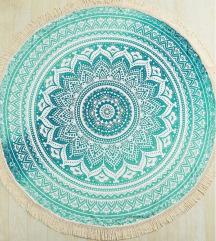Mandala mintás strandlepedő