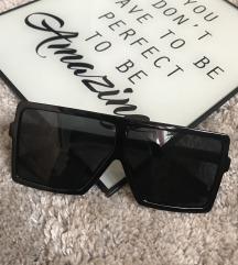Oversize kocka fekete napszemüveg ÚJ