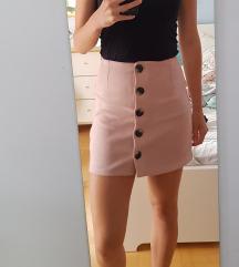 Bershka rózsaszín szoknya