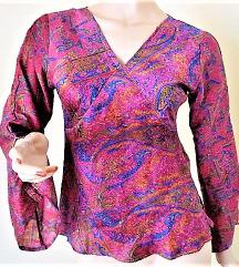 100 % real silk !!! meseszép blúz  ( S )