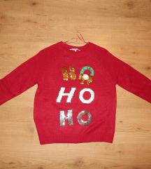 ÚJ C&A karácsonyi kötött pulóver M/L