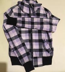 New yorker lila kockás kabát XS/S