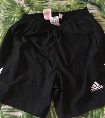 Fekete adidas short unisex