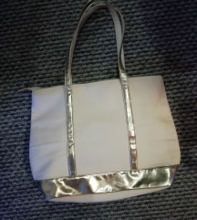 Eladó fehér arany színű táska
