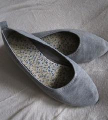 38-39 lapos szürke mamusz/topán/balerina