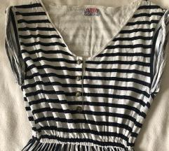 Csíkos Zara ruha