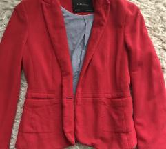 Zara piros blézer