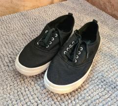 H&M fekete vászoncipő