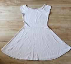 Ckh púderszínű pörgős ruha M