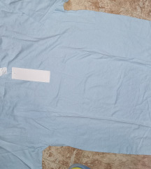 M-es kék Új póló