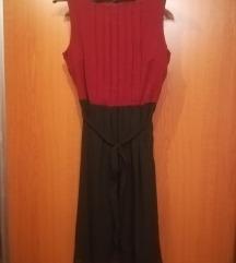 Piros-fekete alkalmi ruha vögele biaggini