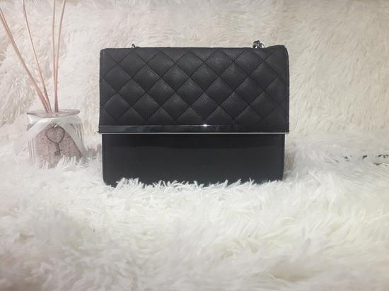 Accessoires, kis fekete táska
